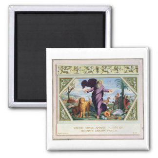 The Raphael Bible: Thirty-Three Scenes from the Ol 2 Inch Square Magnet