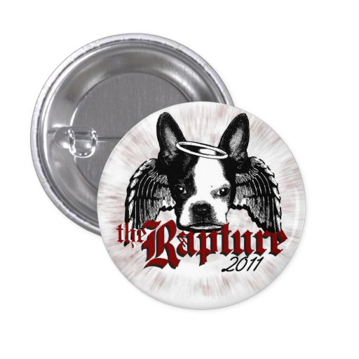 The Rapture 2011 Button