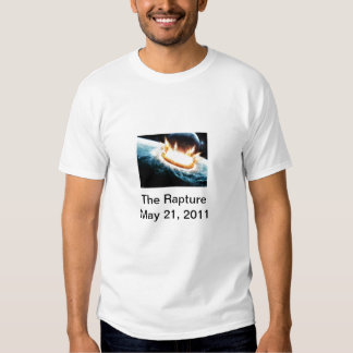 The Rapture 5.21.11 Tee Shirt