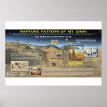 The Rapture Pattern - Mt. Sinai Poster