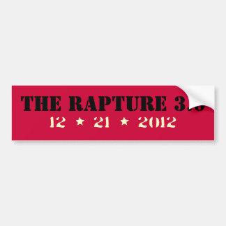 The RAPTURE Version 3.0 Funny Bumper Sticker