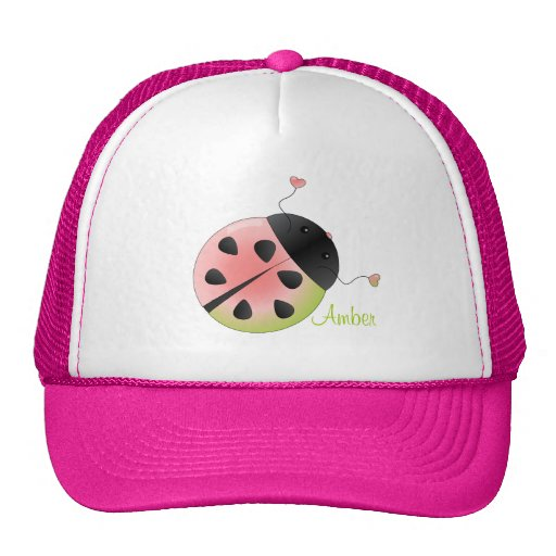 The Rare WAtermelon Ladybug Trucker Hat