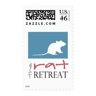 The Rat Retreat Postage Stamp