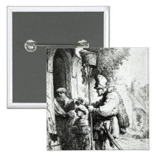 The Ratcatcher, 1632 Pinback Button