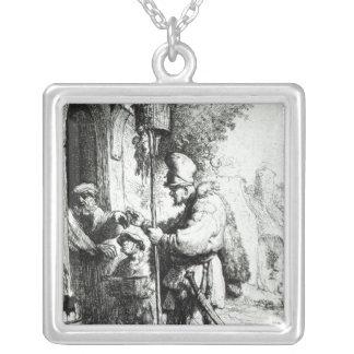 The Ratcatcher, 1632 Square Pendant Necklace