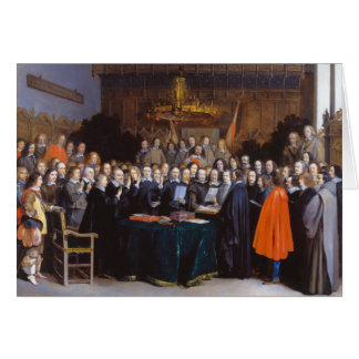 The Ratification of the Treaty of Münster 1648 Cards