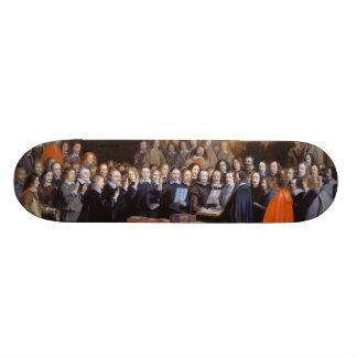 The Ratification of the Treaty of Münster 1648 Skateboard