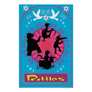 The Rattles Blue Poster