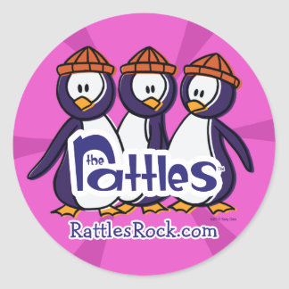 """The Rattles """"Elvis"""" Stickers"""