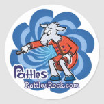 """The Rattles """"Gus"""" Stickers"""