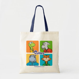 """The Rattles """"Rattle On"""" Tote Bag"""