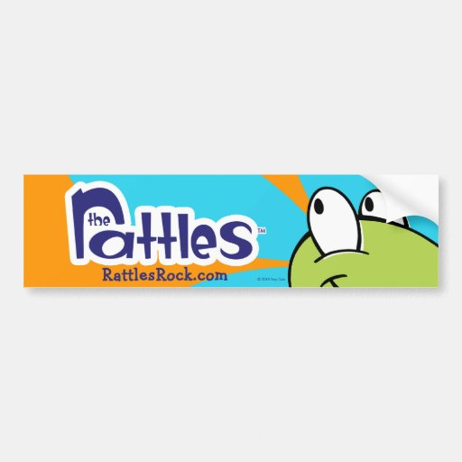 """The Rattles """"Sal"""" Bumper Sticker"""