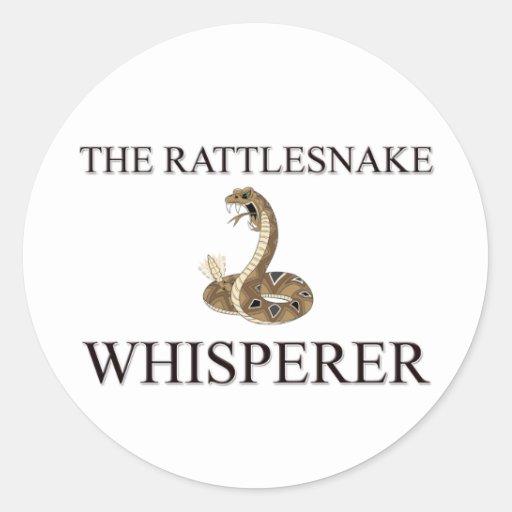 The Rattlesnake Whisperer Sticker