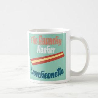 The Raunchy Rasher Luncheonette Coffee Mug