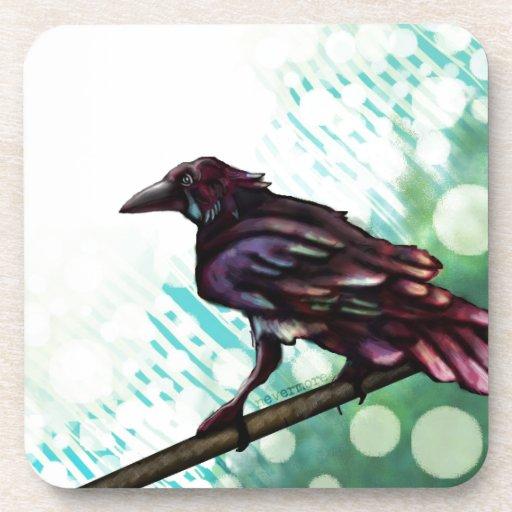 The Raven Beverage Coasters