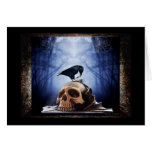 The Raven Blank Note Card