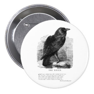 The Raven by Edgar Allen Poe Pin