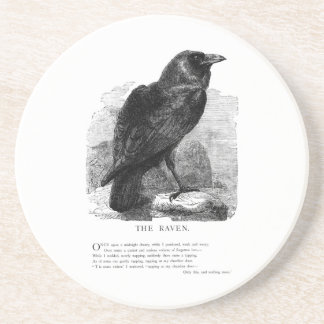 The Raven by Edgar Allen Poe Coaster