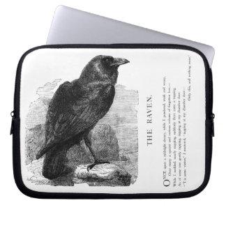 The Raven by Edgar Allen Poe Computer Sleeve