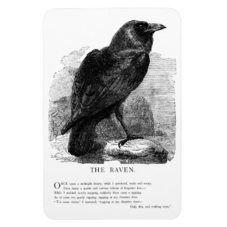 The Raven by Edgar Allen Poe Magnet