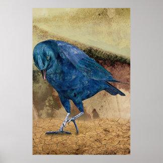 The Raven Calls Me! Poster