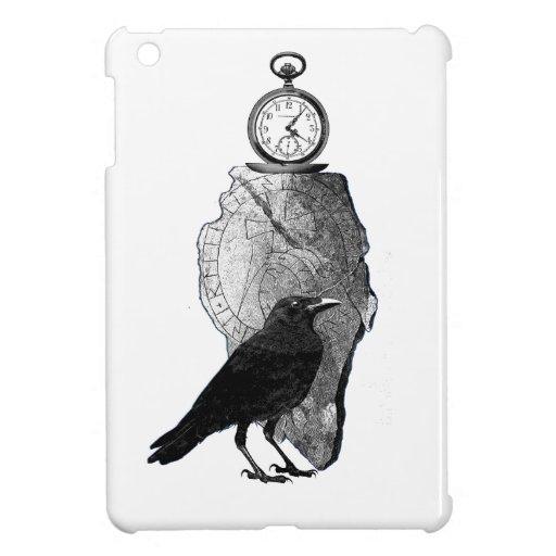 The Raven, Crow and runestone Case For The iPad Mini