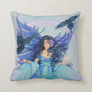 The Raven Fairy Pillow