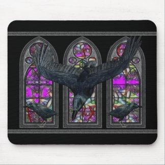 The Raven Gothic Digital art Mousepad