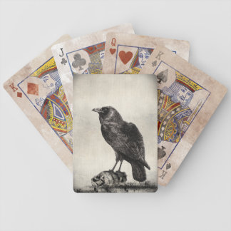 The Raven Gothic Horror  Playing Cards