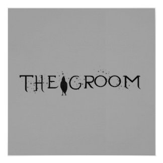 The Raven Groom Personalized Announcement