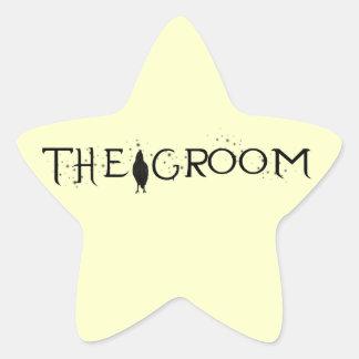The Raven Groom Star Sticker