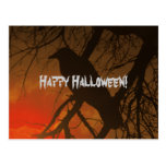 The Raven Halloween Post Cards