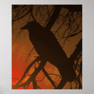 The Raven Halloween Print