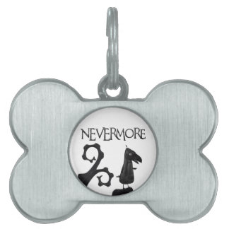 The Raven in the Woods Pet Tag