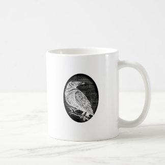 """The Raven"" inspired graphic design Classic White Coffee Mug"