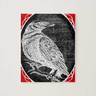 """""""The Raven"""" inspired graphic design Jigsaw Puzzles"""