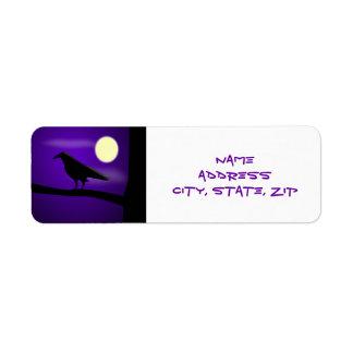 The Raven - Label