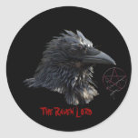 """The Raven Lord"" Sticker"