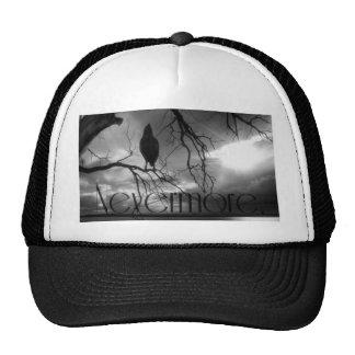 The Raven - Nevermore Sunbeams & Tree B&W Trucker Hat