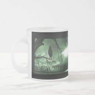 The Raven - Nevermore Sunbeams Tree - Green Mugs