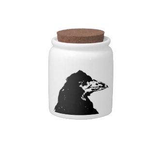 The Raven of Edgar Allan Poe Candy Jar