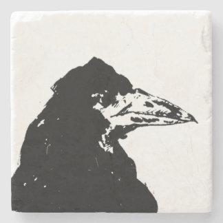 The Raven of Edgar Allan Poe Stone Beverage Coaster