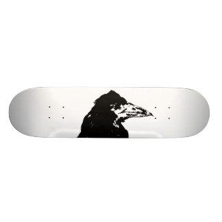 The Raven of Edgar Allan Poe Skateboard