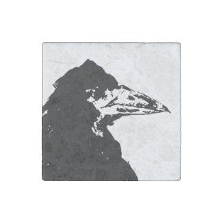 The Raven of Edgar Allan Poe Stone Magnet