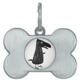 The Raven Pet ID Tag