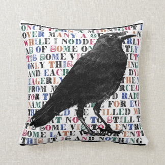 The Raven Pillow