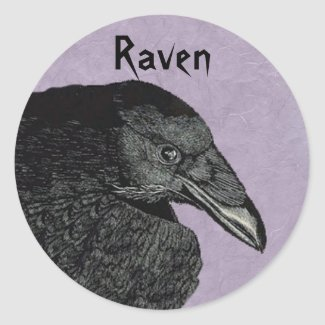 The Raven Stickers sticker