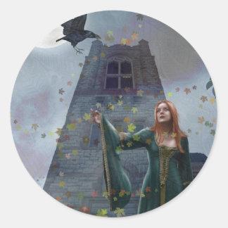 The Raven (Stickers) Classic Round Sticker