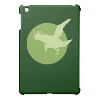 The Raven & the Moon (Green) iPad Mini Cases