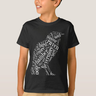 The Raven Word Cloud T-Shirt